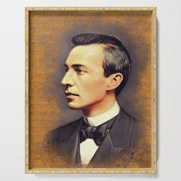 Sergei Rachmaninoff, Music Legend Serving Tray