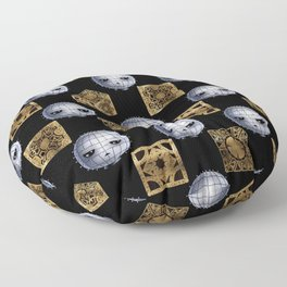 Chibi Pinhead & Puzzle Boxes Floor Pillow