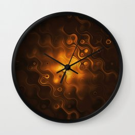 Cell colorful art Wall Clock