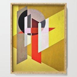 Laszlo Moholy-Nagy - Z VII - Digital Remastered Edition Serving Tray