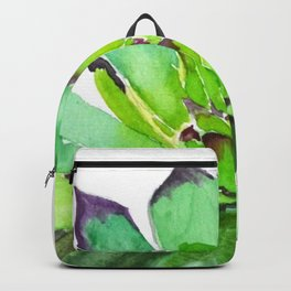 green succulent 2 Backpack