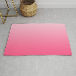 Hot Pink Ombre Rug