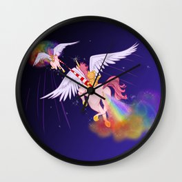 Puppy and Kitten Joust 2020 Wall Clock