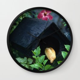 Fresh French Bread Delivery in Tahiti Wall Clock