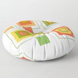 Retro Minimalist Square Design Floor Pillow