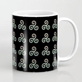Triskele 3 -triskelion,triquètre,triscèle,spiral,celtic,Trisquelión,rotational Coffee Mug