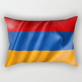 Armenia Flag Rectangular Pillow