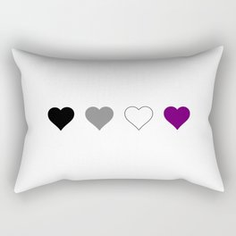 Asexual Heart 1 Rectangular Pillow