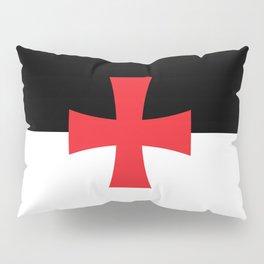 Knights Templar Flag Pillow Sham