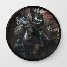 Tourney Joust Wall Clock
