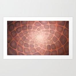 Purple Mandala Chakra Sacred Geometry Tapestry (Crown Chakra) Kunstdrucke