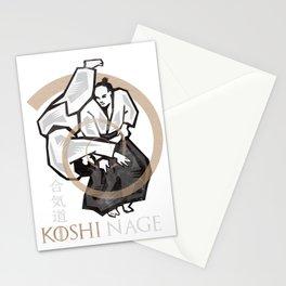 Aikido, Koshi Nage Stationery Cards