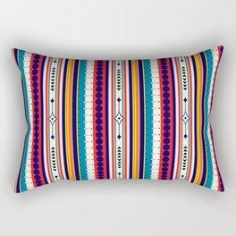 Retro Bohemian Hippie Festival  Rectangular Pillow