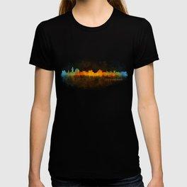 Jerusalem City Skyline Hq v3 T-shirt