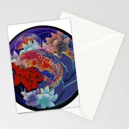 Patch work Koi Stationery Cards