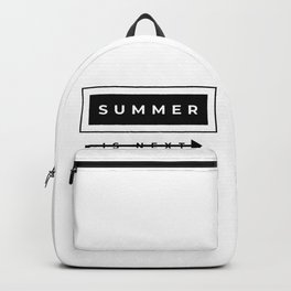 summer is next Backpack