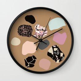 HOT PEBBLES Wall Clock