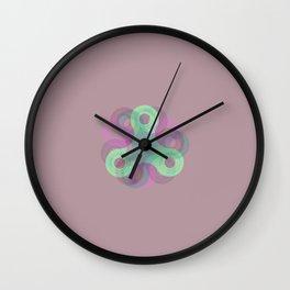 Spinner - Violet Wall Clock