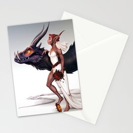 Dragon Queen Stationery Cards