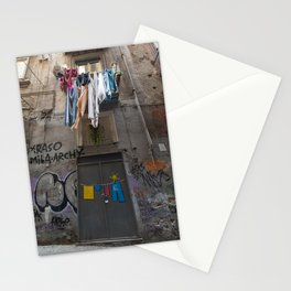Laundry Day - Quartieri Spagnoli, Napoli, Italia Stationery Cards