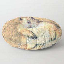 Vintage, Sitting Prairie Dog Floor Pillow