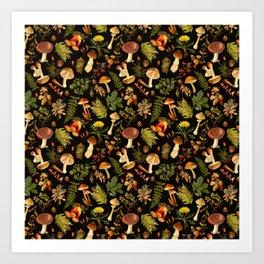 Vintage & Shabby Chic - Autumn Harvest Black Kunstdrucke