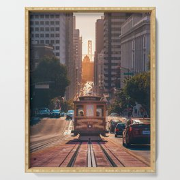 San Francisco Trolley (Color) Serving Tray