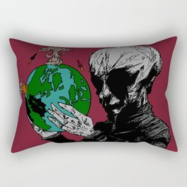 Aril Observes Our World - For Print Rectangular Pillow