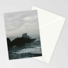 Crashing Waves on Cannon Beach Oregon Stationery Cards