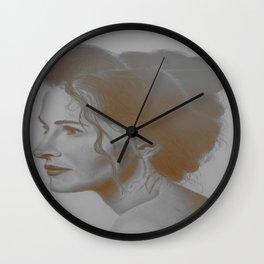 Pretty Woman Wall Clock