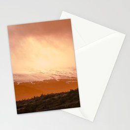 Sunset in Patagonia Stationery Cards