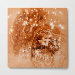 Rusty ghost wreck Metal Print
