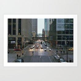 Minneapolis Streets Art Print