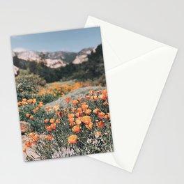 California Poppies // Santa Barbara, CA Stationery Cards