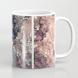 Van Gogh Almond Blossoms Teal Mauve Myrtle Green Coffee Mug