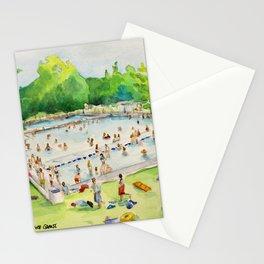 Deep Eddy Pool - Austin, Texas Stationery Cards