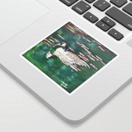 Canada Goose Lake Sticker