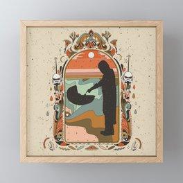 """Mandalorian"" by Cassidy Rae Marietta Framed Mini Art Print"