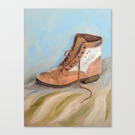 Shoe made for walking Canvas Print