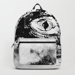 alligator baby eye wswbw Backpack