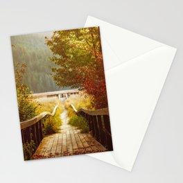 Autumn mood, Washington Stationery Cards