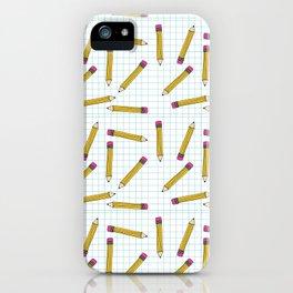Pencils, Pencils Everywhere! iPhone Case