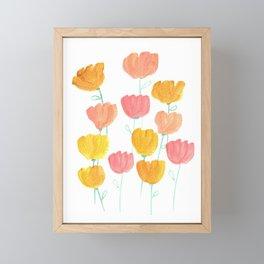 Always Freinds-Blooms  Framed Mini Art Print
