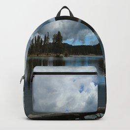 Sprague Lake Cloud Reflection Backpack