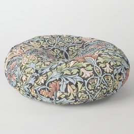 Art work of William Morris 6 Floor Pillow