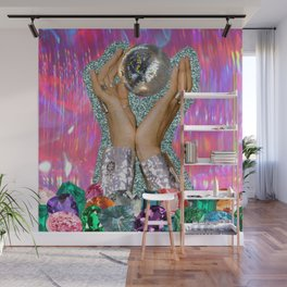 Power of Disco Wall Mural