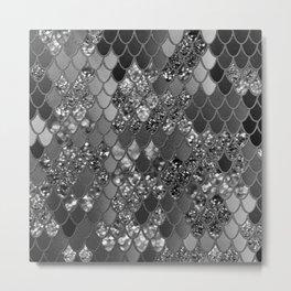 Mermaid Glitter Scales #7 (Faux Glitter) #shiny #decor #art #society6 Metal Print