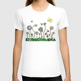 Happiness in the Garden of Bling T-shirt