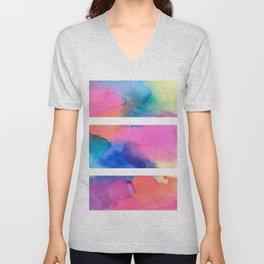 Tie Dye Unisex V-Neck