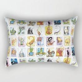 Mexican Lottery Rectangular Pillow